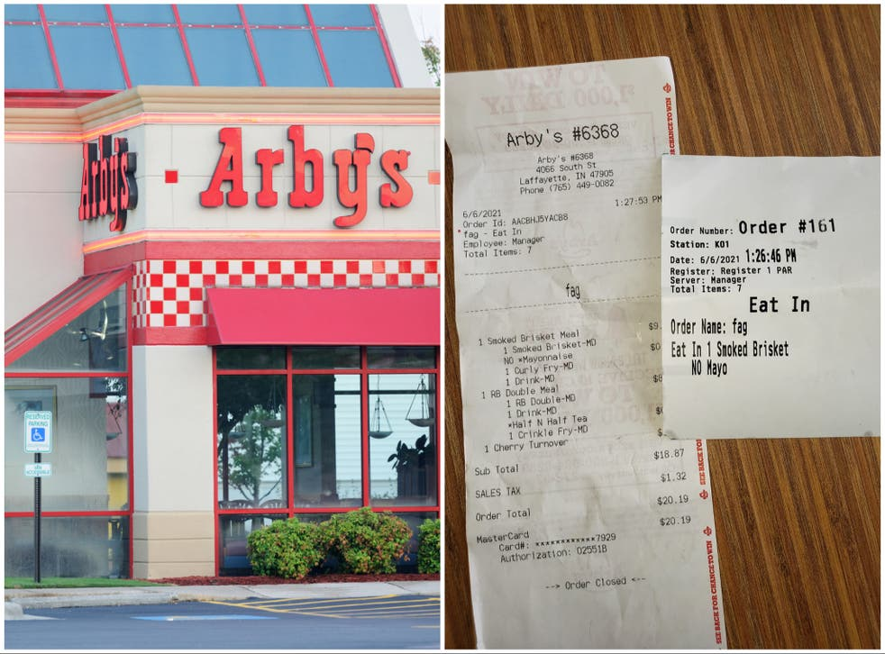 <p>The shocking incident occurred at an Indiana branch of the fast food chain Arby's</p>