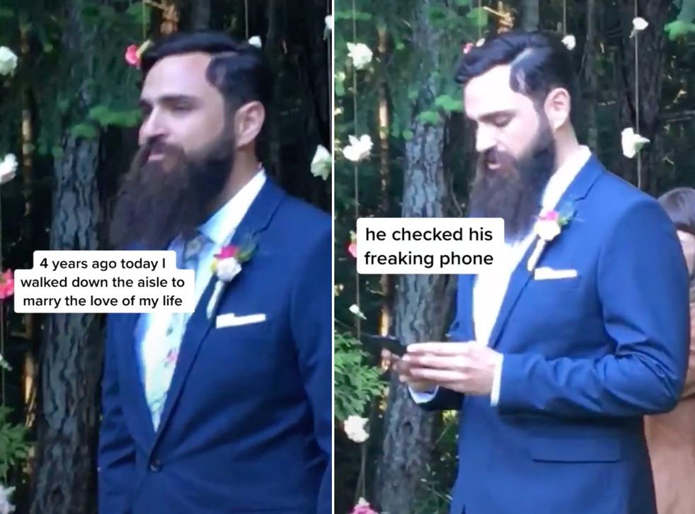 <p>The groom said it was because 'crypto never sleeps'</p>