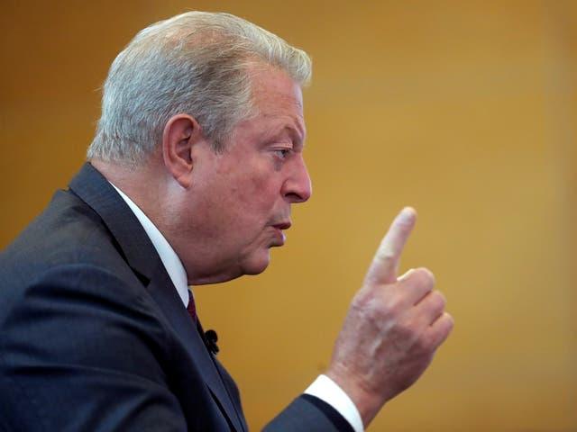<p>Al Gore</p>