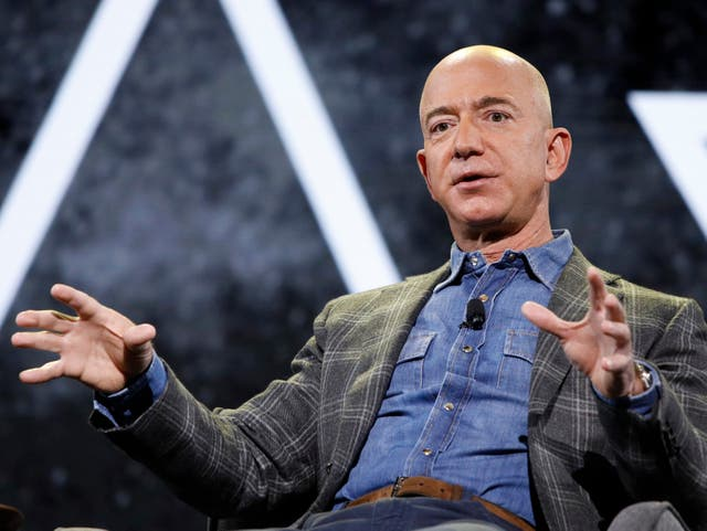 <p>Amazon founder Jeff Bezos </p>