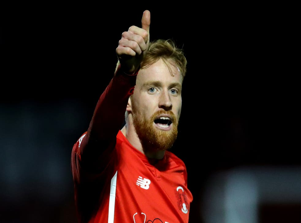 <p>James Brophy has joined Cambridge from Leyton Orient</p>