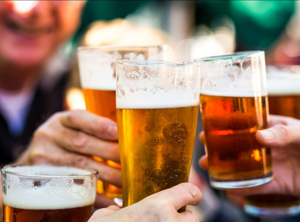 <p>Pub goers can claim a free pint from participating Greene King pubs across England, Wales and Northern Ireland on Friday 11 June 2021</p>
