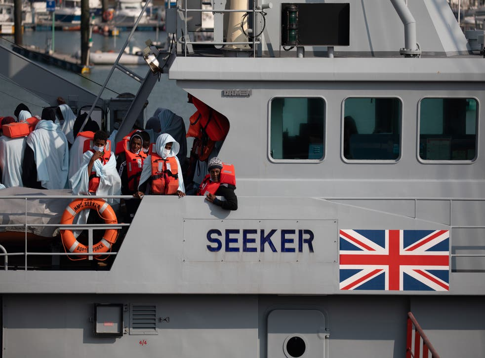 <p>This spring has seen an increase in people making the journey in small boats from France to seek asylum in the UK</p>