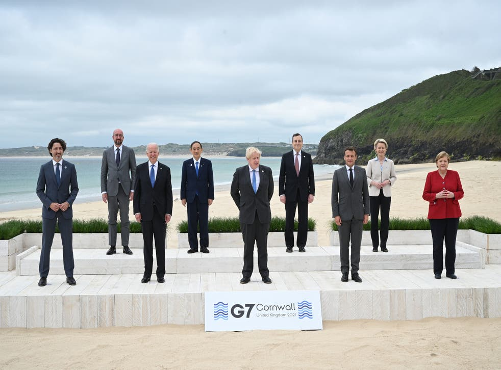 <p>G7  nations - and others - need to do more to tackle gender inequality </p>