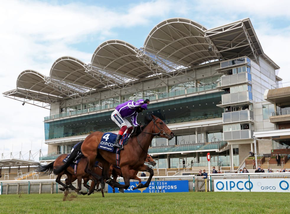 Mother Earth won the 1000 Guineas