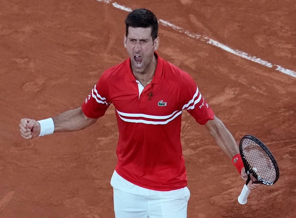 <p>Novak Djokovic is looking to finish the job in the final after defeating Rafael Nadal</p>