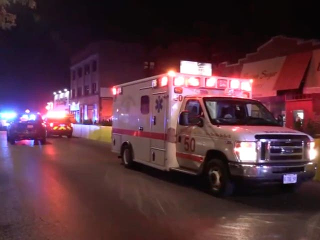 <p>A Chicago shooting left one woman dead and another nine people injured. </p>
