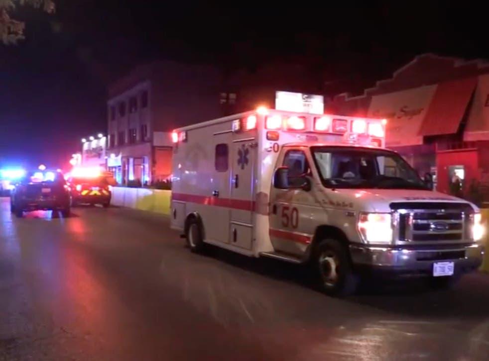 <p>Un tiroteo en Chicago dejó una mujer muerta y otras nueve personas heridas.</p>