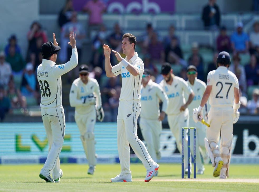 New Zealand celebrate