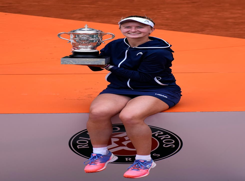 Barbora Krejcikova was a surprise French Open champion