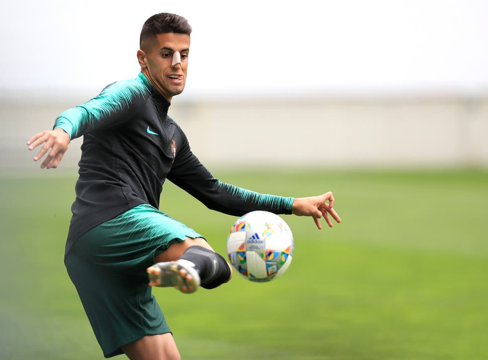 <p>Portugal defender Joao Cancelo</p>