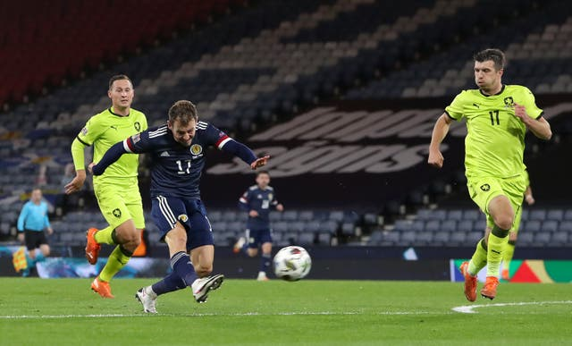 Ryan Fraser fired the winner the last time Scotland faced the Czech Republic