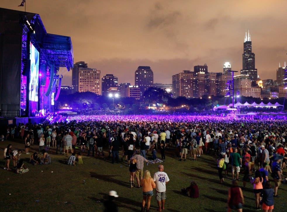 <p>Lollapalooza in 2016</p>