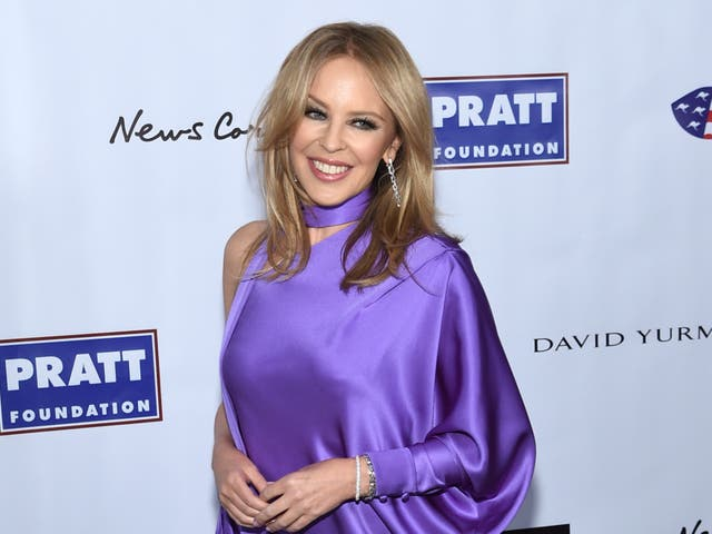<p>Kylie Minogue attends the 2020 AAA Arts Awards</p>