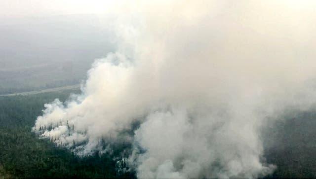 Russia Wildfire