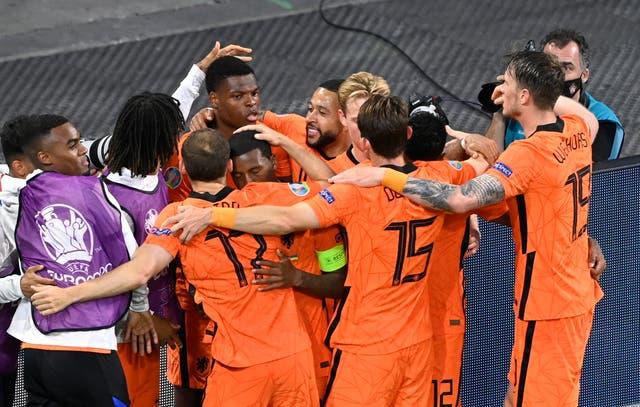 <p>Netherlands Ukraine Euro 2020 Soccer</p>