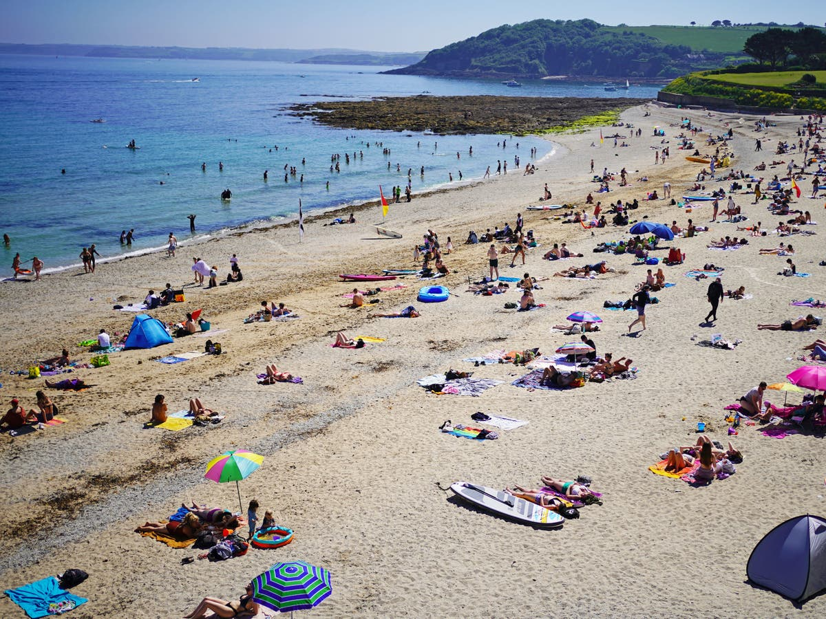Monday forecast be hottest day of the year before thunderstorms wash away heatwave