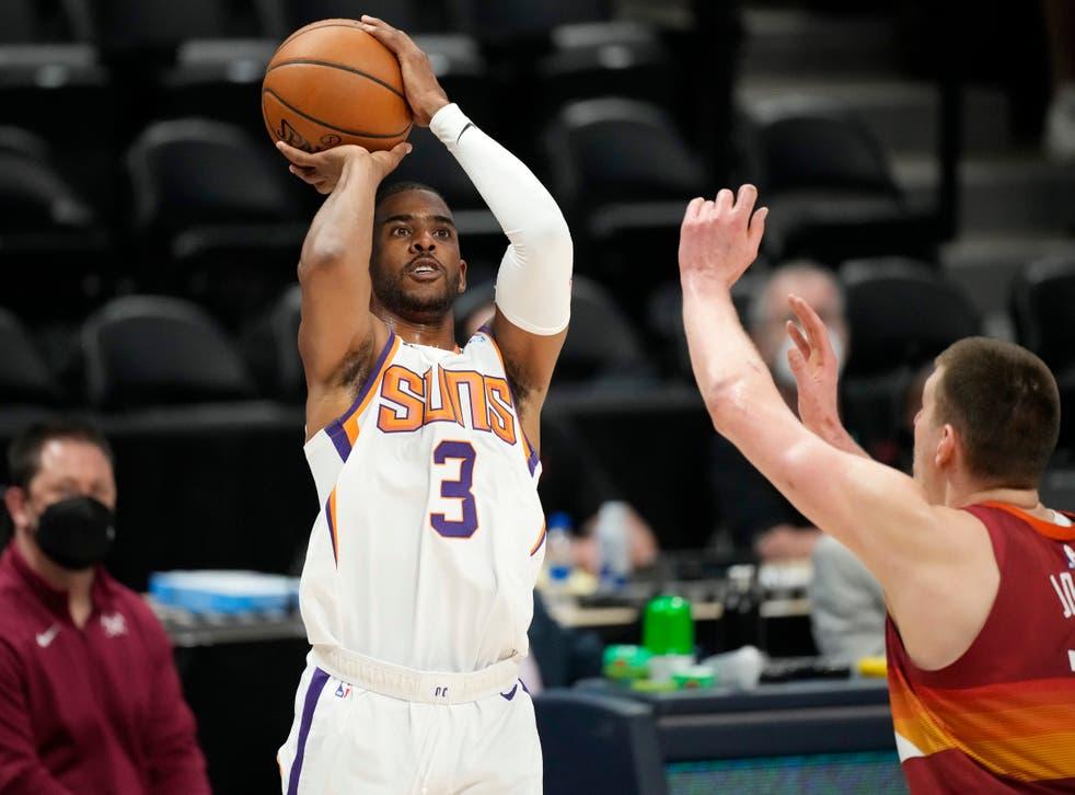 Phoenix Suns guard Chris Paul