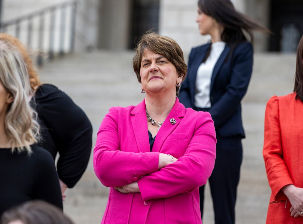 <p>Arlene Foster was Northern Ireland's first minister since January 2020, and previously from January 2016 to January 2017</p>