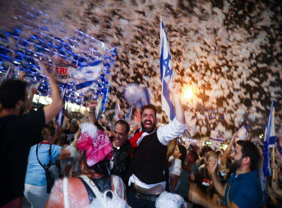 APTOPIX Israel Politics