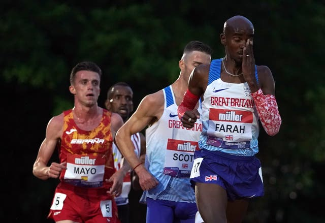 <p>Great Britain's Sir Mo Farah is aiming to qualify for the Olympics.</p>