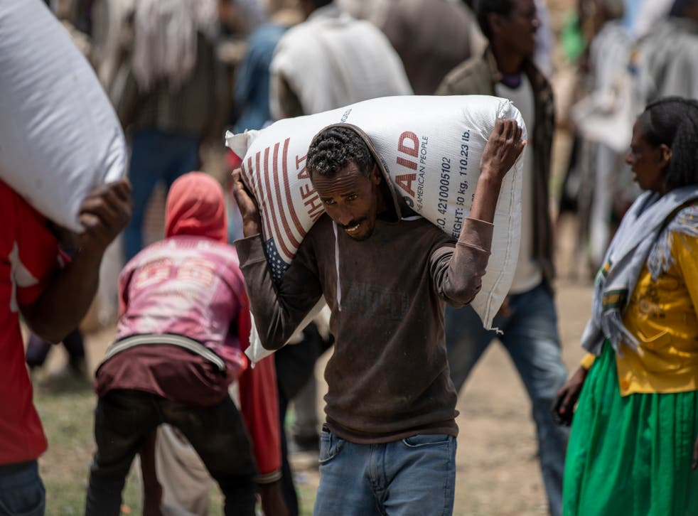 <p>The UN says they have recieved reports of  more than 150 people starving to death in the Tigray region</p>