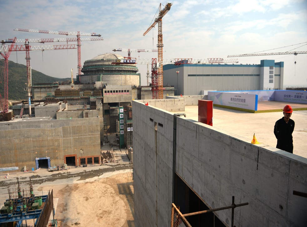 <p>The Taishan nuclear plant was powered up in 2018 and features two operational pressurised reactors</p>
