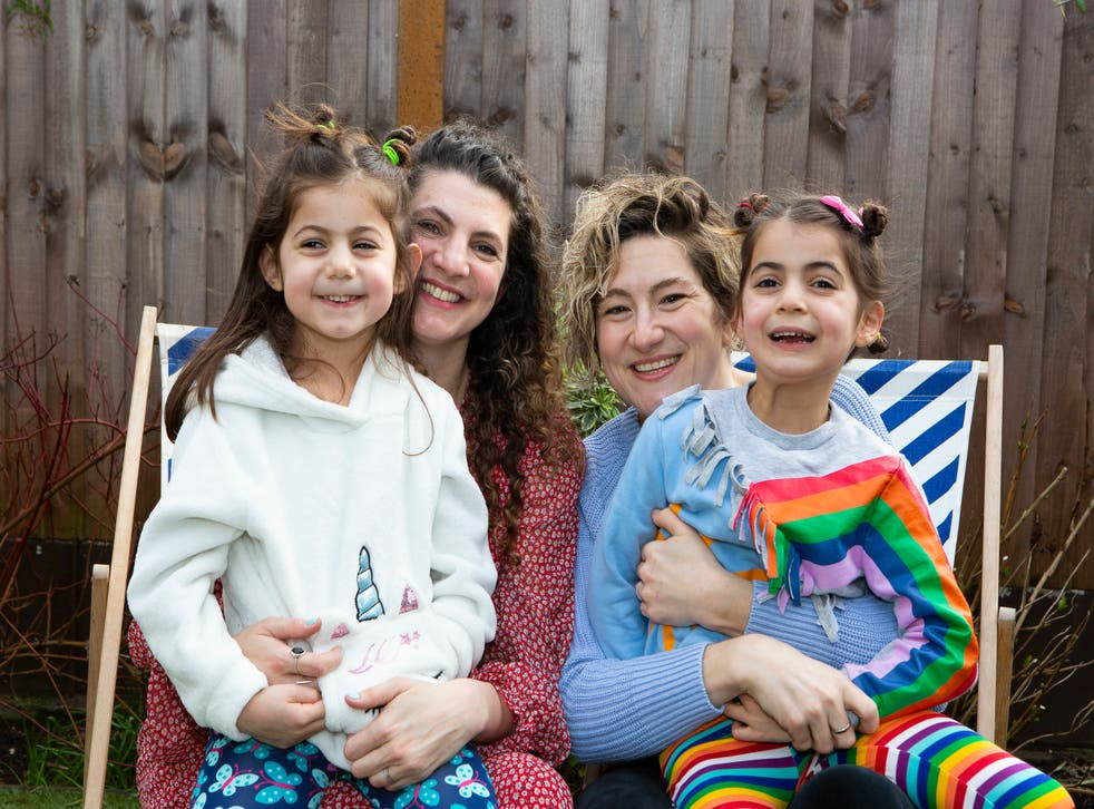 <p>Jodie Lancet-Grant and her family</p>