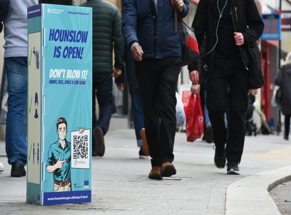 <p>Two London boroughs are seeing rates above 100: Lambeth and Wandsworth </p>