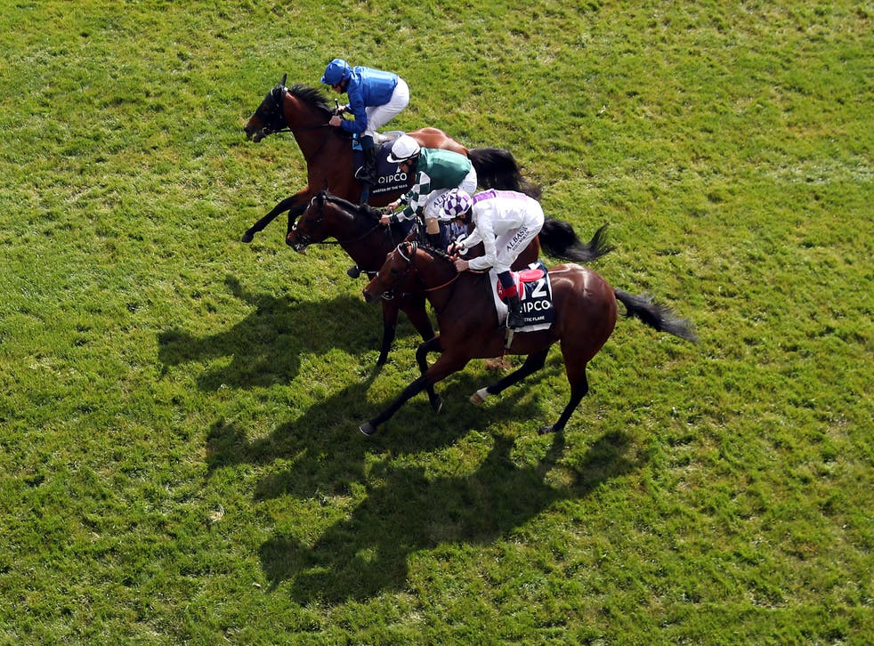 Poetic Flare will try to add the St James's Palace Stakes to this narrow triumph in the 2000 Guineas