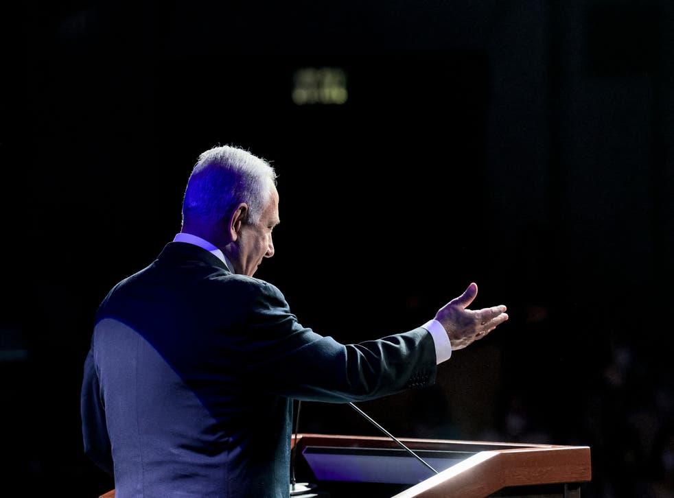 <p>Benjamin Netanyahu ends his tenure as Israel's prime minister</p>