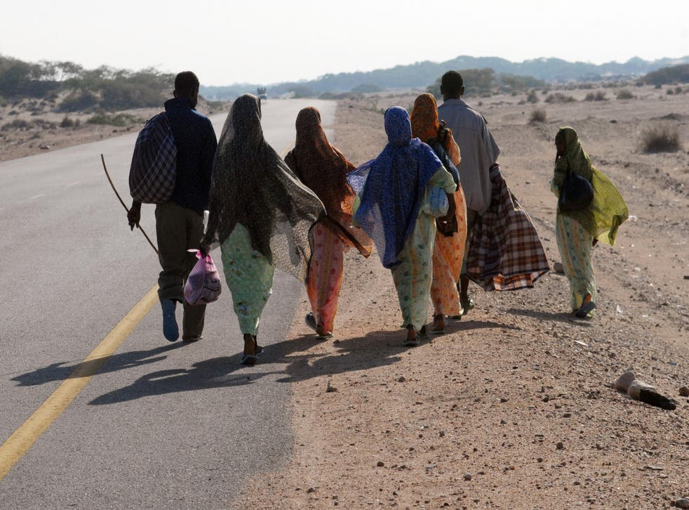 <p>Many migrants from the Horn of Africa attempt to cross the Red Sea into the Gulf states</p>