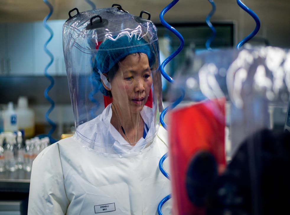 <p>Chinese virologist Shi Zhengli is seen inside the P4 laboratory in Wuhan, capital of China's Hubei province, on 23 February, 2017. Dr Shi has dismissed questions around whether Covid-19 may have originated in her lab as 'filth'. </p>