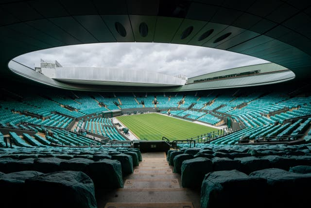 Wimbledon could be one of the major sporting events in England granted exemption from tight capacity limits over the next four weeks