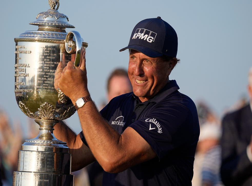 <p>Phil Mickelson</p>