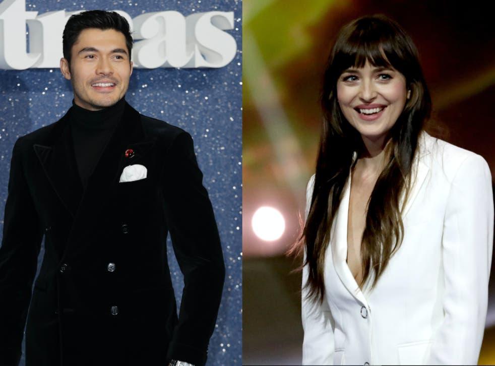 <p>Henry Golding and Dakota Johnson will both star in an adaptation of Jane Austen's 'Persuasion'</p>