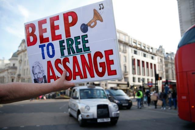 <p>Julian Assange has been held in London's Belmarsh Jail since April 2019 </p>