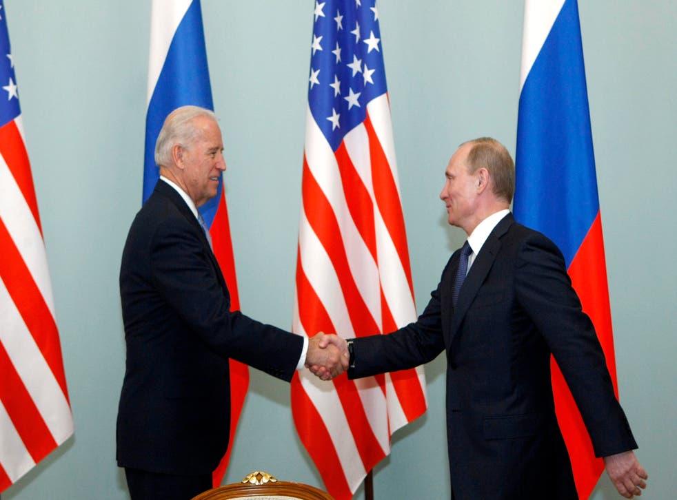 Biden Putin Syria