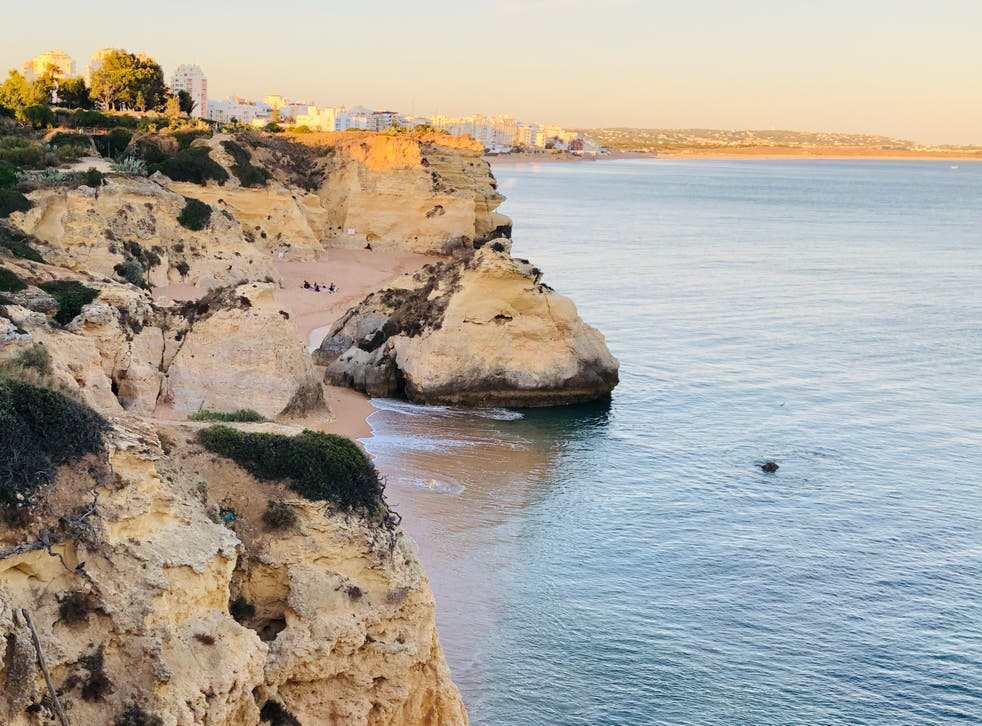 <p>New dawn? Portugal's Algarve Coast, now on the 'amber list'</p>