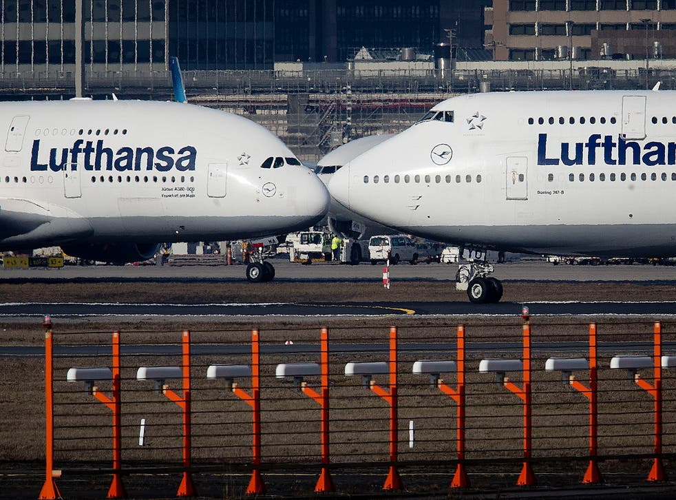 Lufthansa offers economy passengers chance to book entire row of seats to  bed down on long-haul flights   The Independent