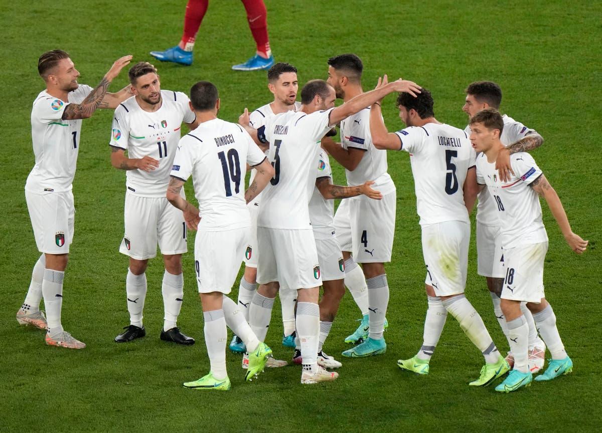 Italy vs Switzerland predicted line-ups: Euro 2020 team news ahead of fixture tonight