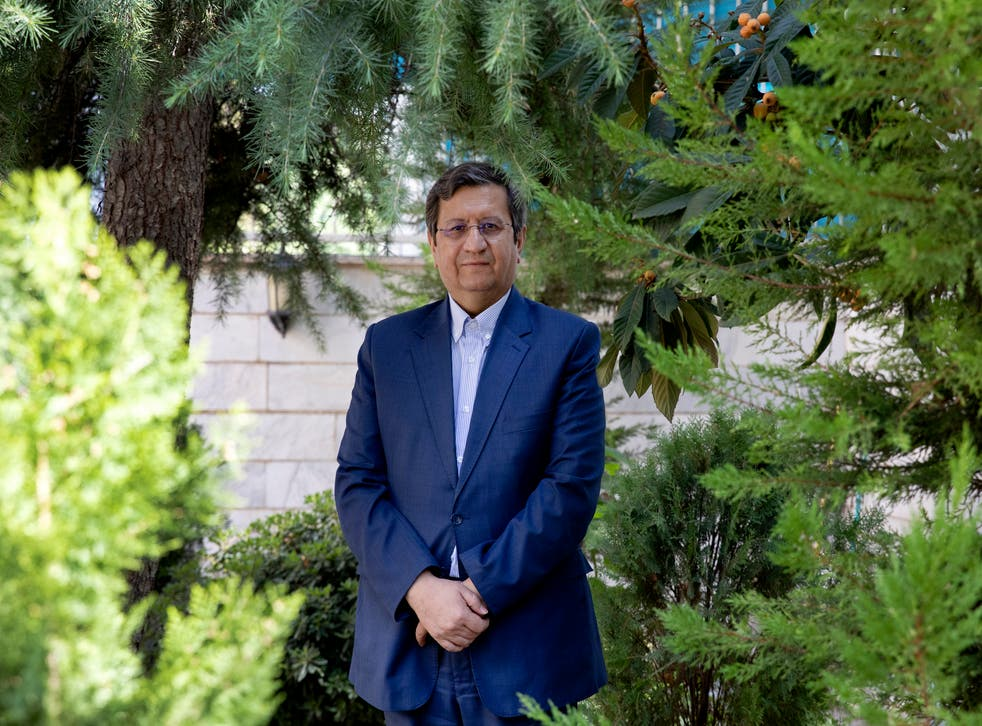 Iran Elections AP Interview Hemmati