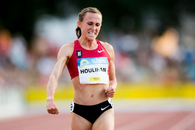 <p>Ms Houlihan blamed the result on a pork burrito she ate at a food truck in Oregon </p>