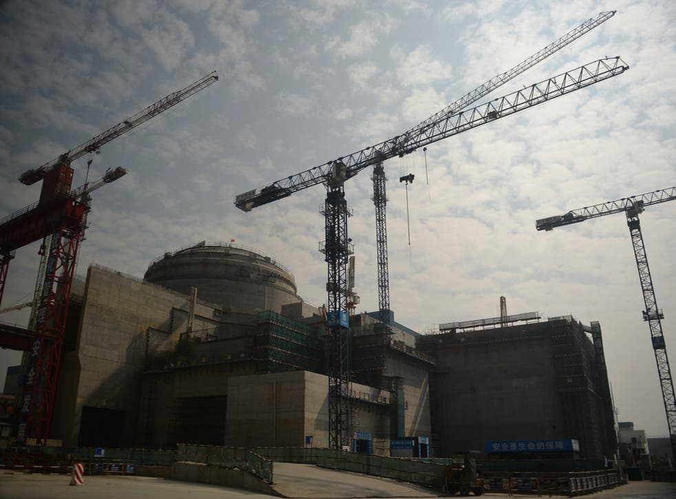 <p>A view of the joint Sino-French Taishan Nuclear Power Station outside the city of Taishan in Guangdong province</p>