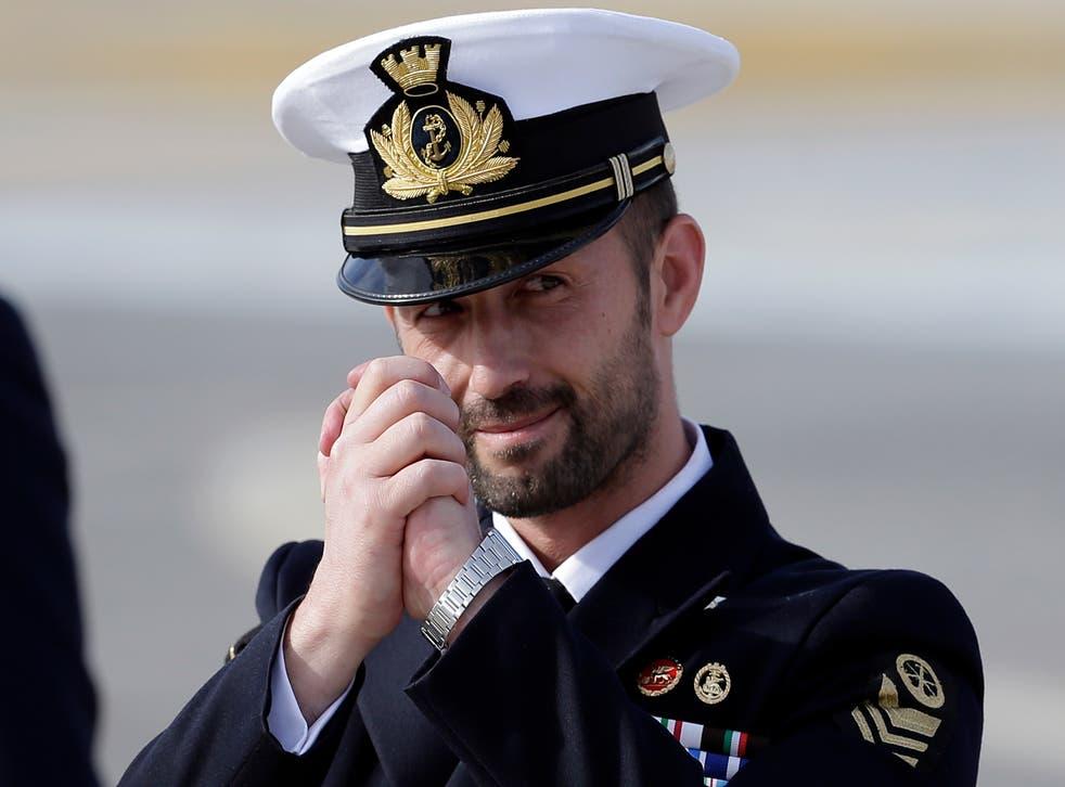 Italy India Italian Marines