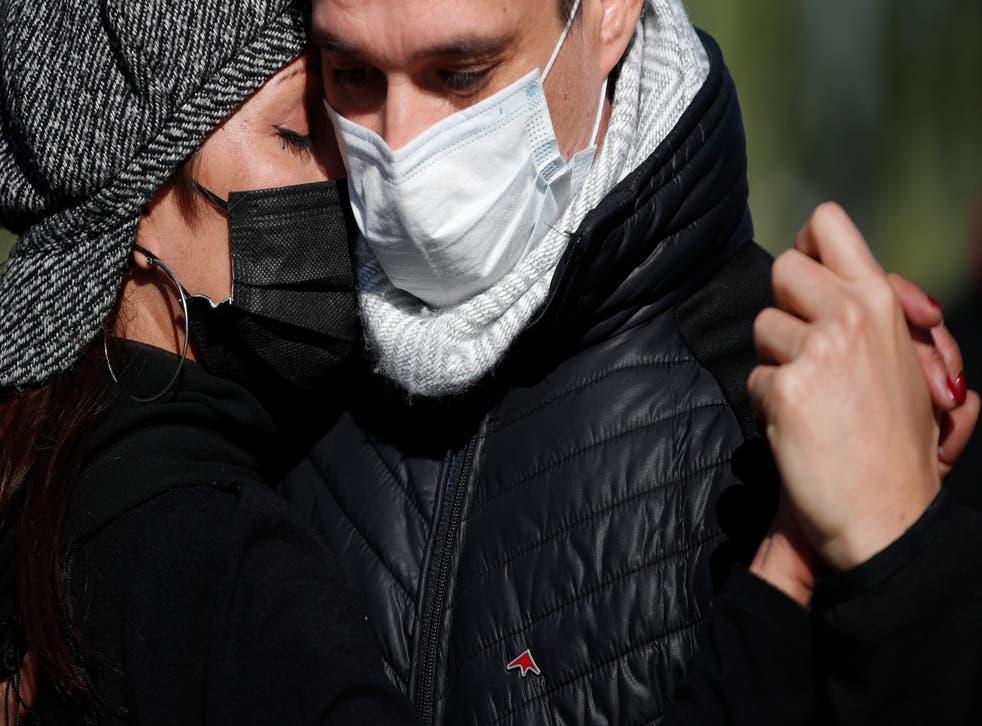 Virus Outbreak Argentina Tango Suffers