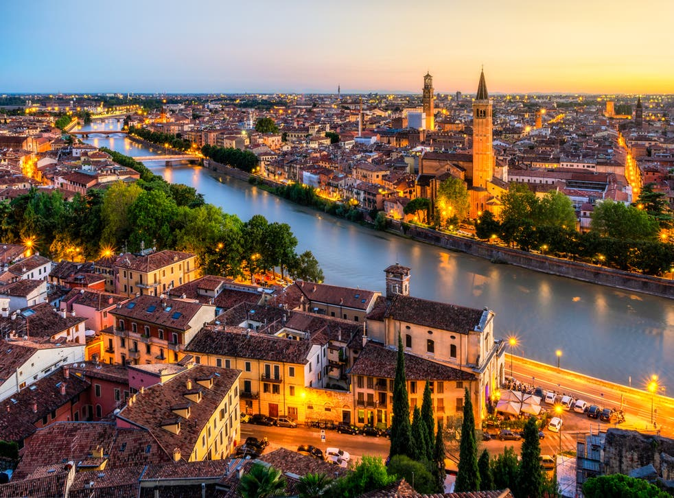 <p>It is unclear what the building, discovered in Verona, was used for</p>