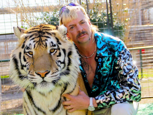 <p>Tiger King star Joe Exotic is selling an NFT collection from prison</p>