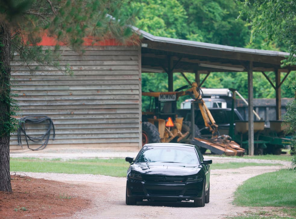 <p>A mother and son from a prominent South Carolina legal family were found shot and killed on the family's land, and authorities said they have made no arrests in the double homicide case. </p>