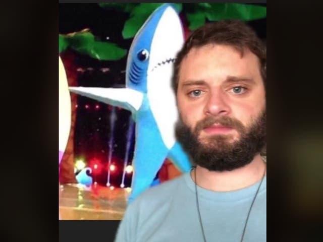 <p>Former prisoner, Morlock, reacting to the left shark meme from 2015</p>